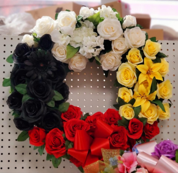 Medicine Wheel Funeral Wreath