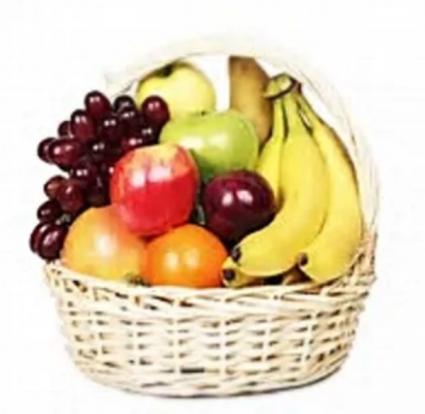Assorted Fruit Basket  Gift Item