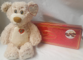 MEDIUM BEAR AND BOX OF CHOCOLATES TO ADD TO ADD  TO AN ARRANGEMENT IF YOU'D LIKE.