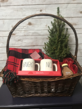 Medium Christmas Basket Gift