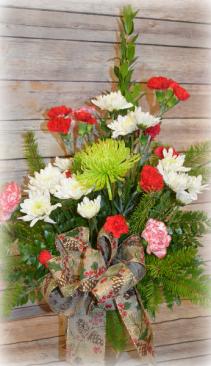 Medium Christmas Vase