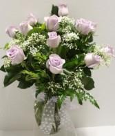 Lavender Rose Arrangement