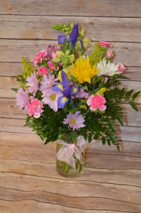 Medium Cylinder Vase Arrangement