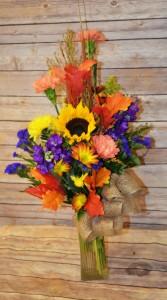 Medium Fall Mix Vase
