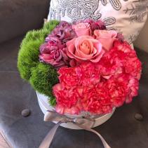 Medium Flower Box Arrangement Assorted Flowers