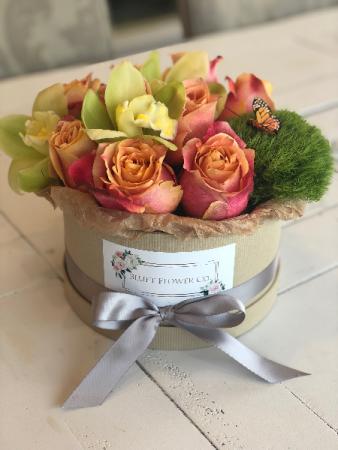 Summer Meadow Flower Box Arrangement Assorted Flowers