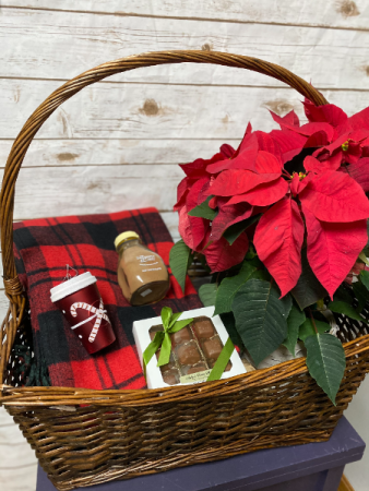 Medium Christmas Basket Gift