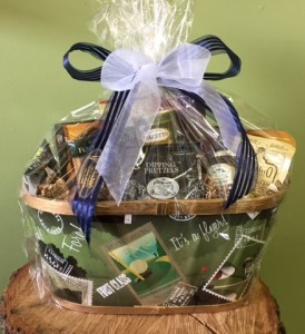 Medium Gourmet Gift Basket  in Fayetteville, AR | ZUZU'S PETALS & GIFTS
