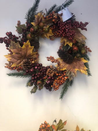 Medium Sized Fall Wreath Gift Item