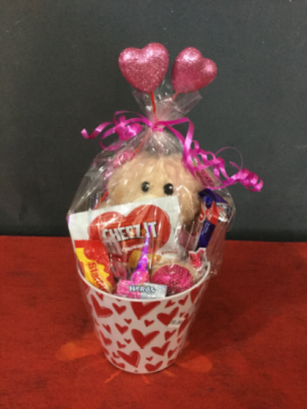 MEDIUM Valentine's Day basket