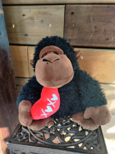 Medium Valentines Monkey