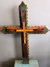 Medium Wooden Cross  Hand crafted Artisan Cross