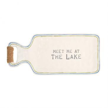 Meet Me at the Lake Mud Pie Platter