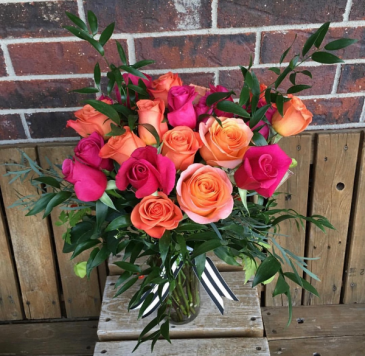 Megan mixed roses