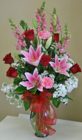 Melanie's Valentine Deluxe Bouquet  in Lebanon, NH | LEBANON GARDEN OF EDEN FLORAL SHOP