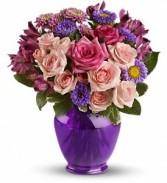 Purple Melody Floral Bouquet
