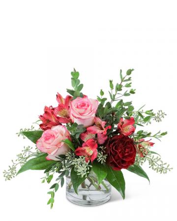 Melt My Heart Flower Arrangement