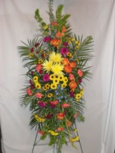 MEMORABLE LIFE SPRAY FUNERAL FLOWERS