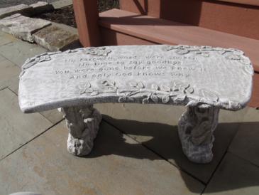 Memorial benches Sympathy