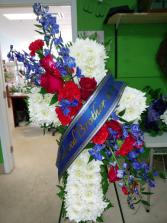 Memorial Cross Sympathy