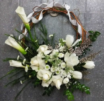 Memorial Door Wreath Funeral wreath
