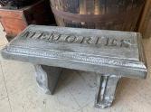 Memorial Garden Bench -Standard Size Bereavement Gift