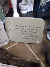 Memorial Garden Stone Keepsake Gift