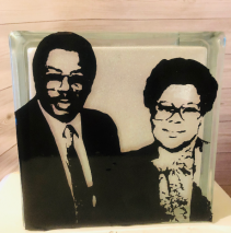 Memorial Glass Block Memorial Glass Block