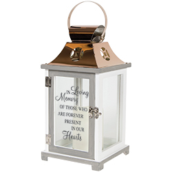 Memorial Lantern Funeral Arrangement