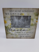 Memorial Picture frame Giftware