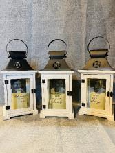 Memorial Picture Frame  Lantern