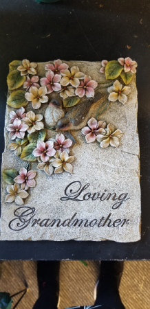 Memorial Plaque Grandmother Add to any sympathy display