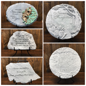 Memorial Plaques  in Yankton, SD | Pied Piper Flowers & Gifts