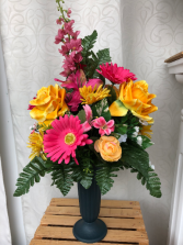 Memorial Silk Arrangement