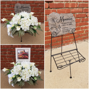 Memorial Stone Arrangement  in Liberal, KS | THE FLOWER BASKET