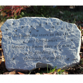 MEMORIAL STONE Stone