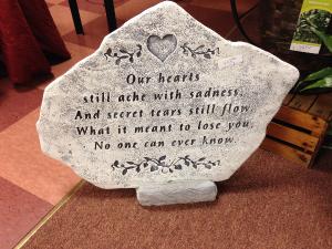 Memorial Stones Arrangements Memorial Stones in Harrison Township, MI | R Flowers
