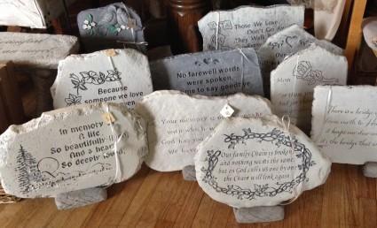 Memorial Stones Sympathy