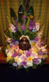 Memorial Urn Urn Wreath