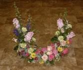 Memorial Wreath Arrangement