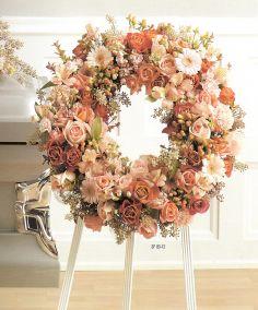 memorial wreath standing spray in Caldwell, ID | Bayberries Flowers & Gifts