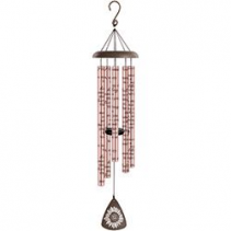 "44"" Rose Gold Sonnet Windchime"
