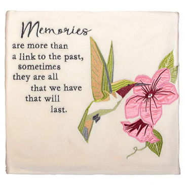 Memories  Keepsake Blanket