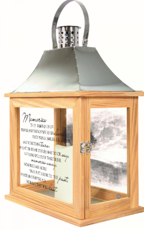 Memories Lantern Large w/Batteries