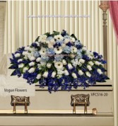 Memories Of Endearment Sympathy Casket Spray