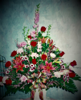 Memories of Grandma funeral arrangement