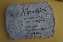 Memories Plaque Gift
