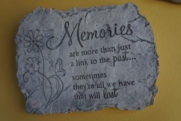 Memories Plaque Gift