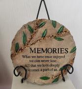 Memories Plaque Resin