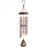 Memories Rose gold Windchimes